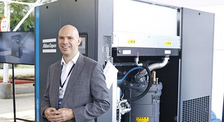 Atlas Copco launches new air compressors at Chakan plant