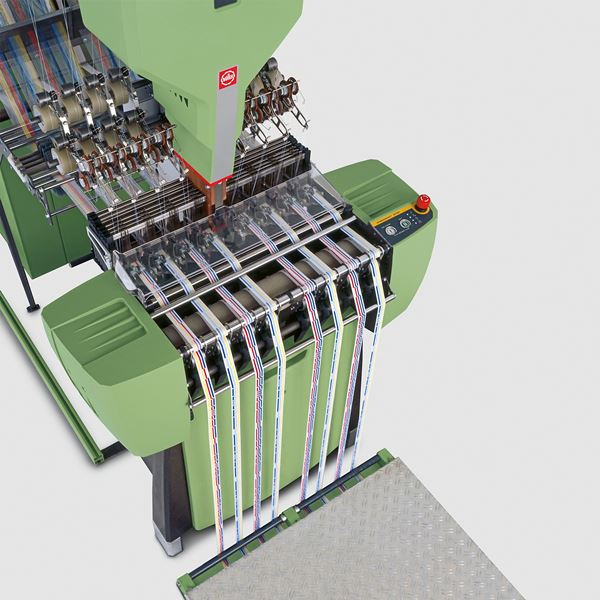Knitting Machines Unlimited : Jakob müller systems and solutions for narrow fabrics