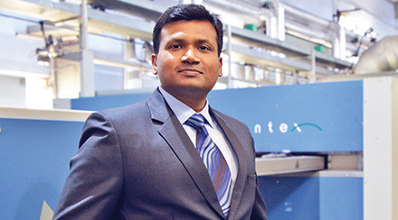 Gujarat Flotex scaling greater heights using Monfongs stenter