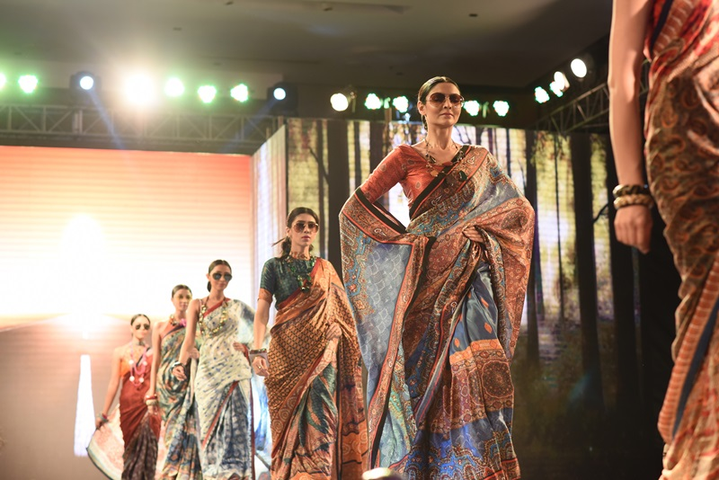 Liva Showcases Its First Ever Saree Collection