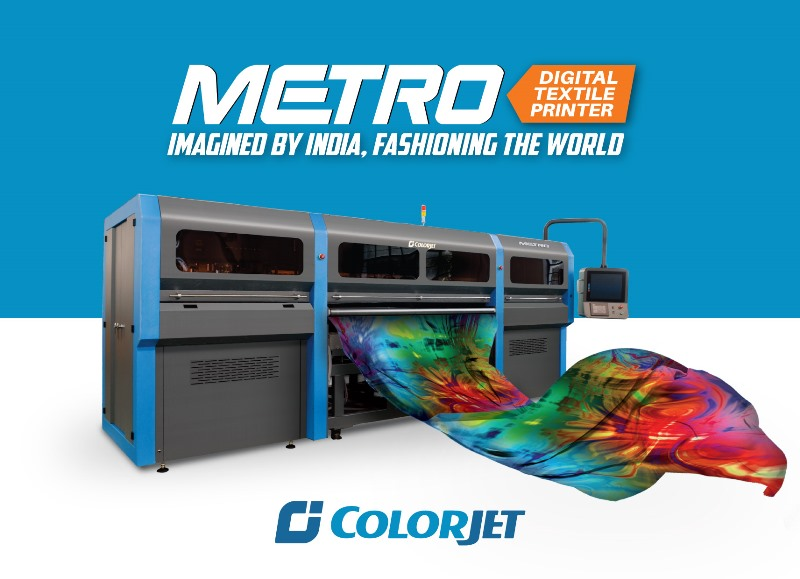 ColorJet to introduce Green Digital Fabric Printing at Knit Show