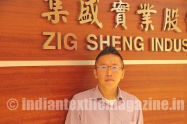 Zig Sheng keen to expand Indian marketshare