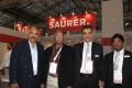 Major Indian customers visit Saurer booth