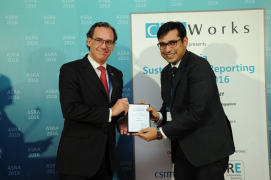 Arvind's First Sustainability Report wins Asia's top award
