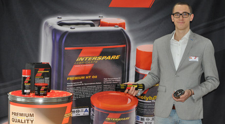 iNTERSPARE Lubricants demonstrates ways to increase productivity at KNIT-TECH