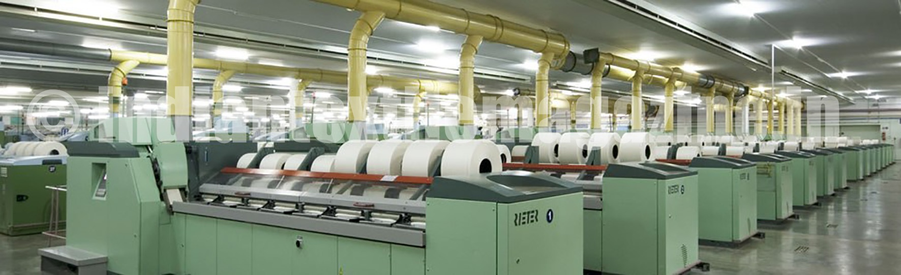 spinning industry in india