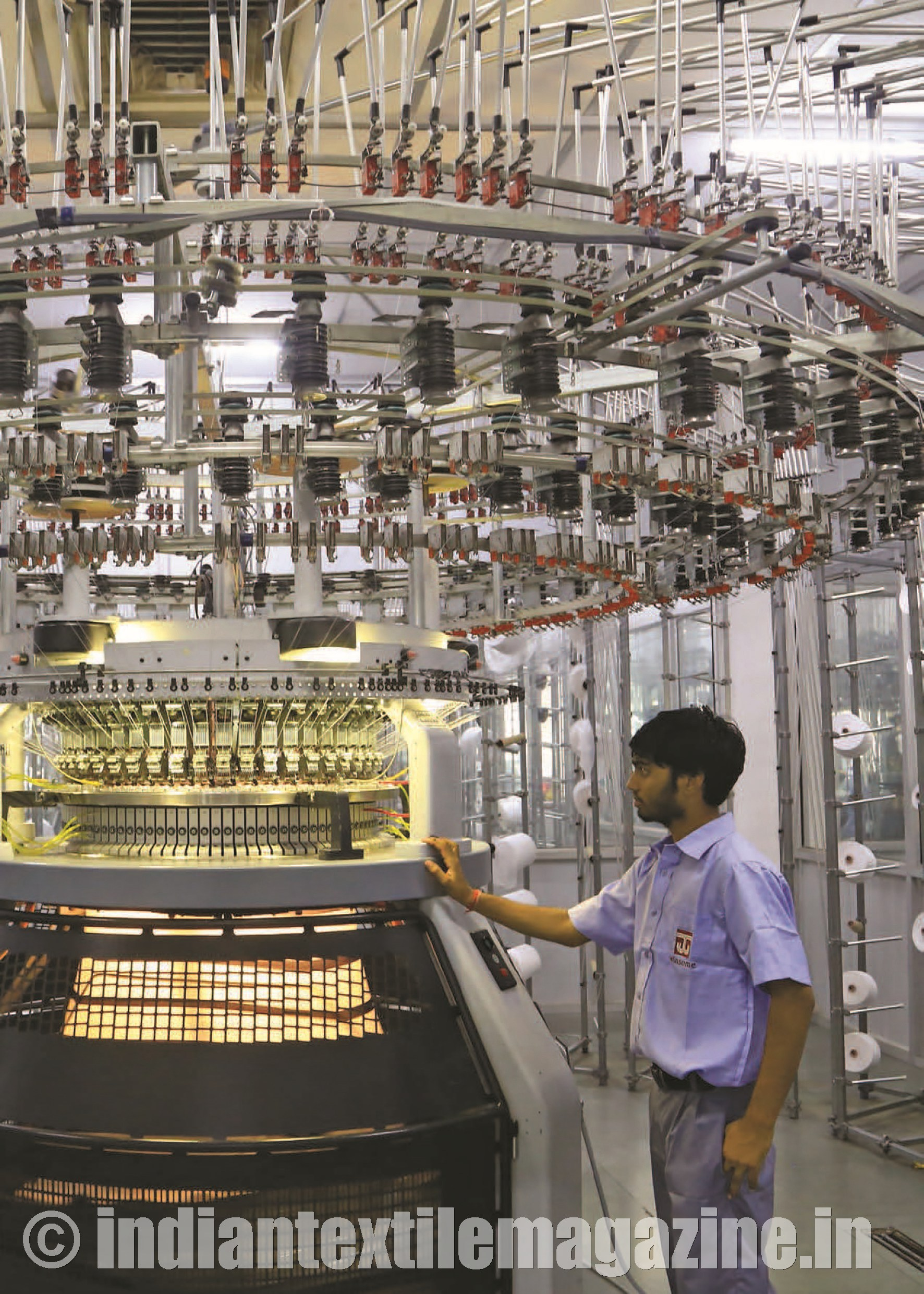 Knitting Units In Lahore : Global textile machinery shipments in